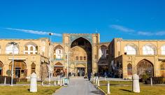 عکس بازار قیصریه اصفهان