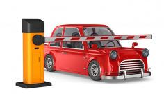 عکس گیت پارکینگ ماشین