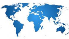 وکتور نقشه کشور جهان