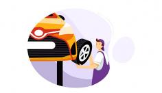 وکتور تعمیرات چرخ خودرو