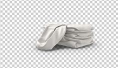 عکس برش خورده سه بعدی لباس سفید