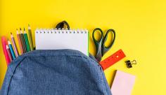 عکس کیف و مداد رنگی