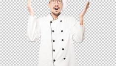 عکس برش خورده دوربری سرآشپز