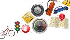 وکتور علائم رانندگی و وسایل نقلیه