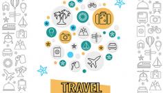 آیکن مسافرت و گردشگری