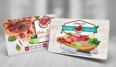 طرح لایه باز کارت ویزیت گوشت فروشی