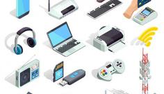 وکتور کاراکتر فناوری اطلاعات