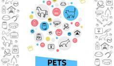 آیکن حیوانات خانگی