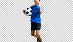 عکس برش خورده دوربری فوتبالیست نوجوان