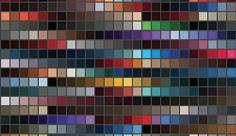 مجموعه ابزارهای فتوشاپ کد رنگ تیره