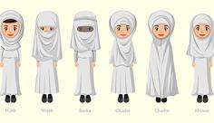 وکتور کاراکتر زن مسلمان