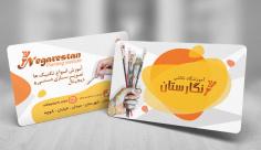 طرح لایه باز کارت ویزیت آموزشگاه نقاشی