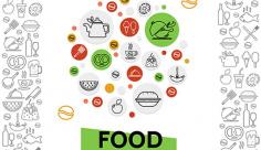 آیکن مواد غذایی و خوراکی