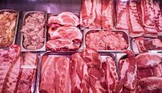 عکس فروشگاه گوشت