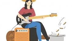 وکتور نوازنده گیتار برقی