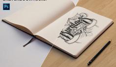 موکاپ کتاب طراحی