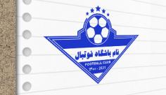 طرح لایه باز مهر باشگاه فوتبال