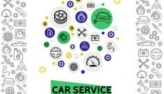 آیکن مکانیکی و خدمات ماشینی