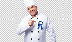 عکس برش خورده دوربری آشپز رستوران