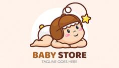 لوگو فروشگاه پوشاک نوزاد