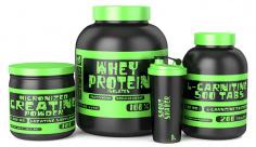 عکس تبلیغاتی ورزش پروتئین ورزشی
