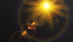 وکتور کاراکتر خورشید تابان
