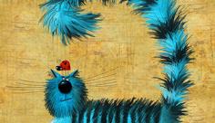 عکس گربه کلاه دار