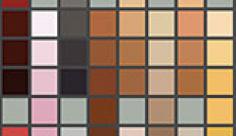 مجموعه ابزارهای فتوشاپ کد رنگ کرم و قهوه ای