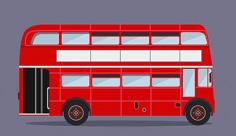 وکتور اتوبوس دو طبقه