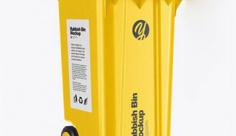 موکاپ سطل زباله