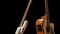 عکس گیتار کلاسیک و گیتار برقی