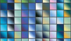 مجموعه ابزارهای فتوشاپ گرادینت طیف مورب سرخآبی
