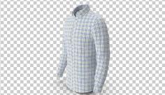 عکس برش خورده سه بعدی پیراهن مردانه