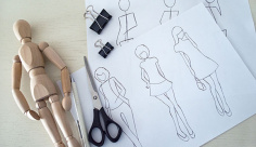 عکس طراحی مدل لباس