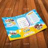 ست تبلیغاتی مهد کودک و پیش دبستانی (تراکت، کارت ویزیت، بروشور)