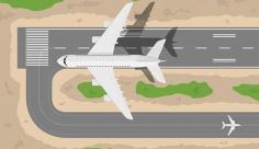 وکتور فرود هواپیما