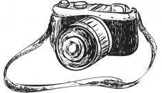 وکتور دوربین عکاسی