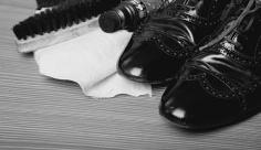 عکس کفش چرم مردانه