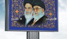 تصویر بنر گرافیکی امام خمینی (ره) و امام خامنه ای -رهبری