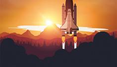 وکتور پرتاب موشک به فضا