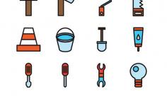 آیکن ابزار آلات