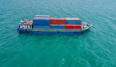 عکس کشتی حمل و نقل کانتینر