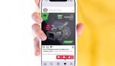 طرح لایه باز قالب بنر تبلیغاتی فروش دوربین فیلمبرداری