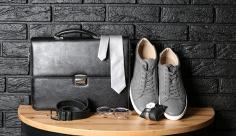 عکس کیف و کفش و کمربند مردانه