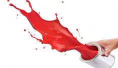 عکس رنگ سطل قرمز