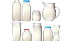 وکتور شیر و لبنیات
