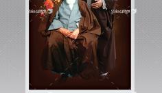 طرح بنر لایه باز امام خمینی (ره) و مقام معظم رهبری