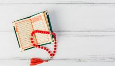 عکس پس زمینه قرآن و تسبیح