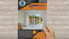 پوستر تبلیغاتی خدمات ساختمانی و املاک