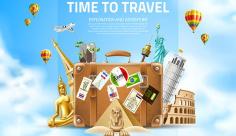 وکتور سفر و گردشگری